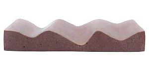Terral Natural Saboneteira de Concreto Onda 1un