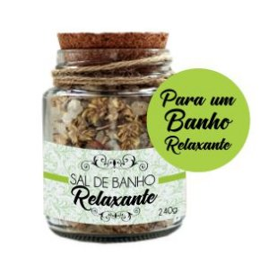Derma Clean Sais de Banho Relaxantes com Lavanda, Laranja, Palmarosa e Patchouli 240g