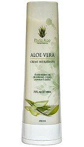 Phytoterápica Creme Hidratante de Aloe Vera 75% 200ml