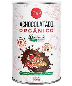 Organ Achocolatado Orgânico Zero Açúcar e Sem Lactose 200g