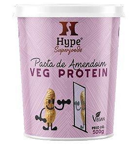 Hype Pasta de Amendoim Veg Protein 500g