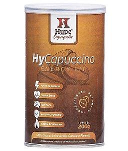 Hype HyCapuccino Energy Fit - Café, Leite Vegetal, TCM, Cacau, Canela, Gengibre e Pimenta 200g