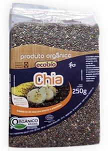 Ecobio Semente de Chia em Grãos Orgânica 250g