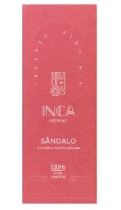 Inca Incenso Natural Sândalo
