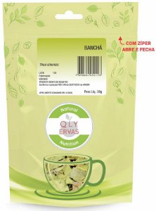 QLY Ervas Chá de Banchá Fracionado 30g