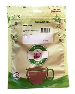 QLY Ervas Canela Java em Pó Condimento Puro 50g