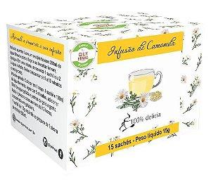 QLY Ervas Chá de Camomila Caixa 15 Sachês