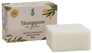 Agora Sou ECO Shampoo em Barra Alecrim e Bergamota - Cabelos Oleosos 80g