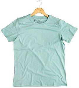 Agora Sou ECO Camiseta 100% Algodão Orgânico - Sem Estampa - Azul 1un