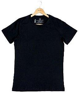 Agora Sou ECO Camiseta 100% Algodão Orgânico - Sem Estampa - Preta 1un