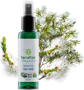 Terra Flor Hidrolato de Tea Tree / Melaleuca Orgânico 120ml