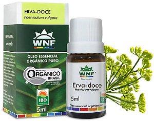 WNF Óleo Essencial de Erva Doce / Funcho Orgânico 5ml