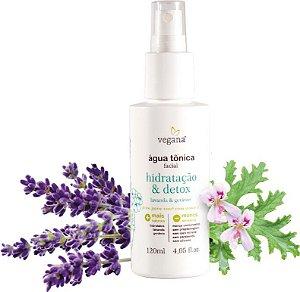 WNF Vegana Água Tônica Facial Hidratação & Detox 120ml