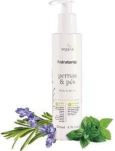 WNF Vegana Hidratante Pernas & Pés 200ml