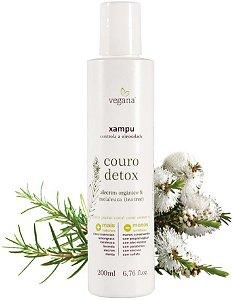 WNF Vegana Xampu Antioleosidade Couro Detox 200ml
