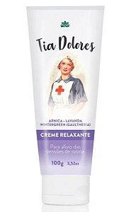 WNF Creme Relaxante Tia Dolores com Arnica, Lavanda e Wintergreen 100g