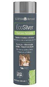 Surya Brasil EcoSilver Shampoo Matizador Cabelos Grisalhos e Brancos 250ml