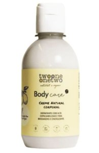 Twoone Onetwo Creme Natural Corporal com Guaraná 250g