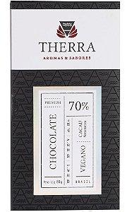 Therra Chocolate Gourmet Vegano 70% Sabor Amargo 80g
