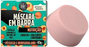 Lola Máscara Capilar em Barra Nutrição com Pêssego e Pracaxi 65g