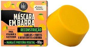 Lola Máscara Capilar em Barra Reconstrução com Manga e Proteína Vegetal 65g