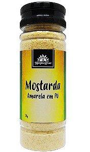Kampo de Ervas Mostarda Amarela em Pó Condimento Puro 70g