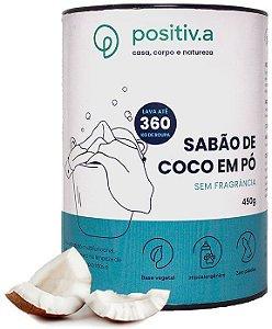 Positiv.a Sabão de Coco em Pó