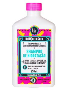 Lola Be(m)dita Ghee Shampoo de Hidratação Banana e Aloe Vera 250ml