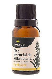 Livealoe Óleo Essencial de Melaleuca / Tea Tree 15ml