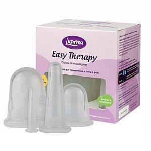 Lumma Easy Therapy Copo Vácuo Tratamento Corporal e Facial Kit 4 un
