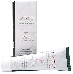Laszlo Máscara Facial Matificante com Zeólita e Argila Verde 60g