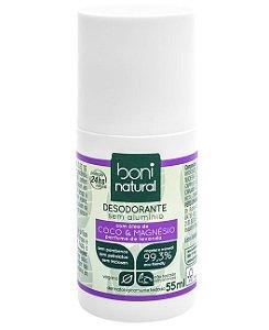 Boni Natural Desodorante Coco e Magnésio Roll-on 55ml