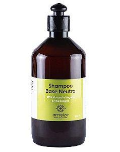 Ameize Shampoo Base Neutra Sem Fragrância 500ml