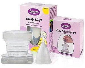 Lumma Kit Coletor Menstrual + Copo Esterilizador