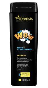 Arvensis WOW Força e Crescimento Shampoo 300ml