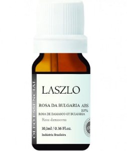 Laszlo Óleo Absoluto de Rosa da Bulgária Diluído 10% 10,1ml