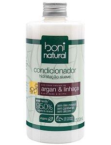 Boni Natural Condicionador Argan e Linhaça 500ml