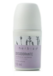 Herbia Lavanda e Verbena Desodorante Roll-on 50ml
