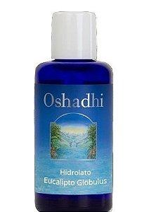 Oshadhi Hidrolato / Água Floral de Eucalipto Globulus Orgânico 100ml