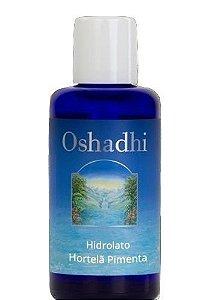 Oshadhi Hidrolato / Água Floral de Hortelã Pimenta Orgânico 100ml