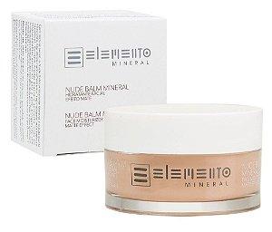 Elemento Mineral Nude Balm Hidratante Facial Efeito Mate 50g