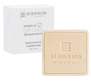 Elemento Mineral Sabonete Vegetal Extrato de Pérolas 100g