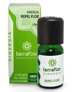 Terra Flor Sinergia Repel Flor com Óleos Essenciais 10ml
