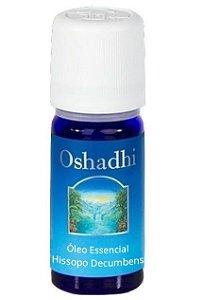 Oshadhi Óleo Essencial de Hissopo Decumbens (qt Cineol) Orgânico 5ml