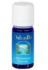 Oshadhi Óleo Essencial de Citronela Orgânico 5ml