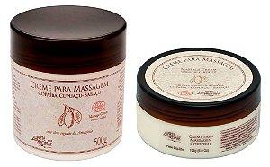 Arte dos Aromas Creme para Massagem Orgânico com Copaíba, Cupuaçu e Babaçu
