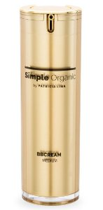 Simple Organic BB Cream Medium 30ml