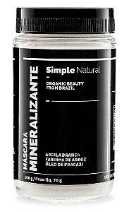 Simple Organic Máscara Mineralizante 100g