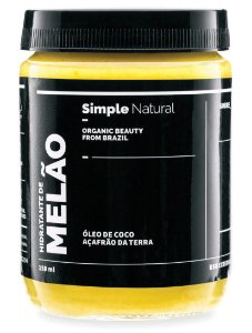Simple Organic Hidratante de Melão 150ml