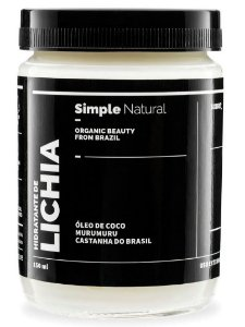 Simple Organic Hidratante de Lichia 150ml